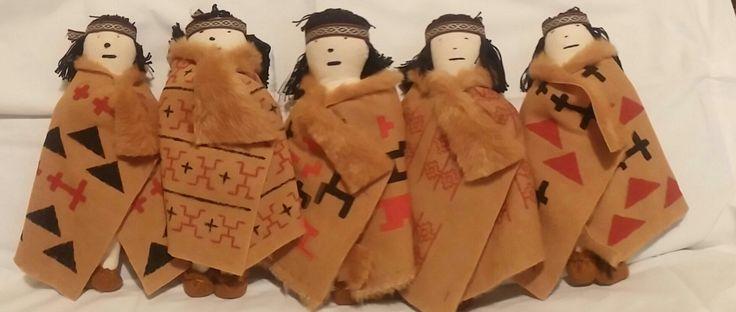 Muñecos Tehuelches