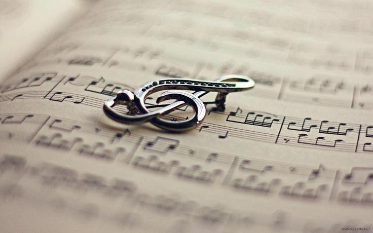Spilla musicale.