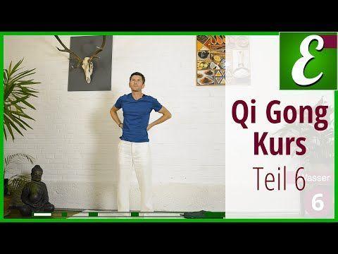 Qi Gong Übungen für Anfänger: Qigong Kurs, komplette Sequenz - YouTube
