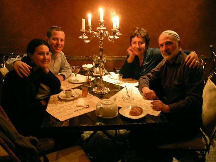 Ева и Рои Гасснер, Дина Рубина и Борис Карафелов. Россия, 2010