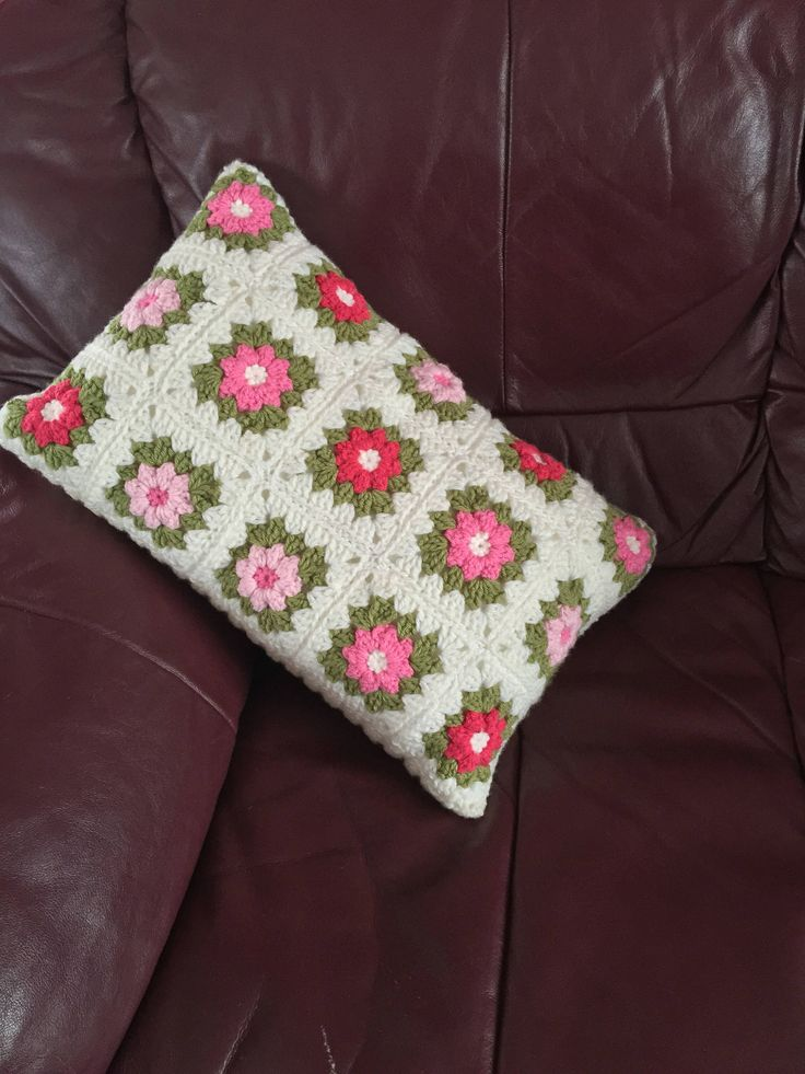 A personal favourite from my Etsy shop https://www.etsy.com/uk/listing/542482365/cushion-pillow-wool-crochet-granny