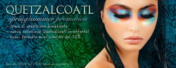 """[News] Neve Cosmetics - Nuova collezione """"Quetzalcoatl"""" e promozioni"""