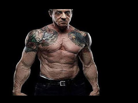 Sylvester Stallone 70 Years Old Workout Motivation ...