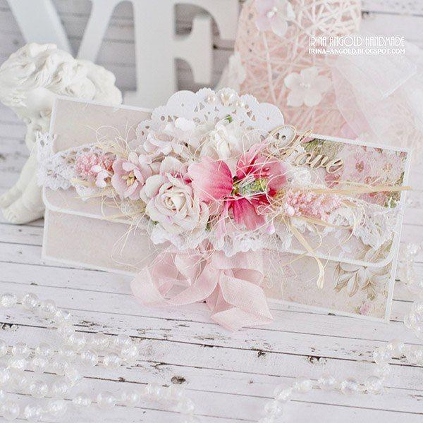 Сундучок вдохновения: Wedding envelopes for Craft and You Design/Серия свадебных конвертов
