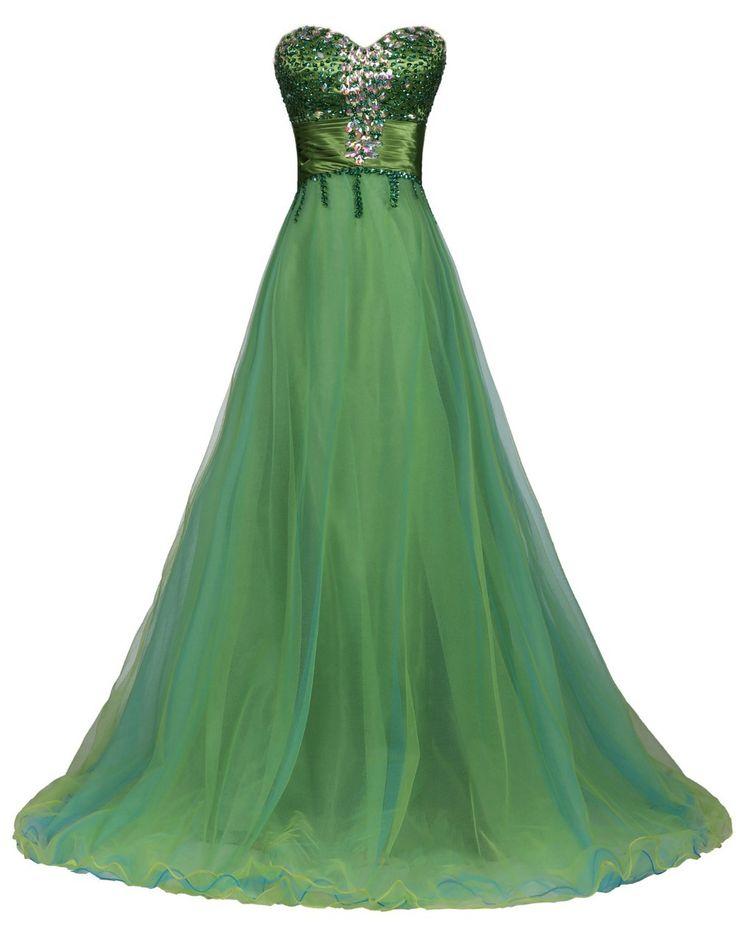 25 Cute Emerald Green Wedding Dress Ideas On Pinterest