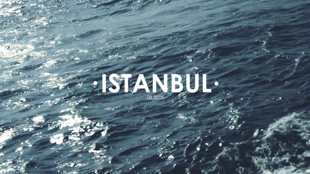 Visions of Istanbul -  A truly wonderful city, unforgettable, eternal! Music credit: Flako - Gelis