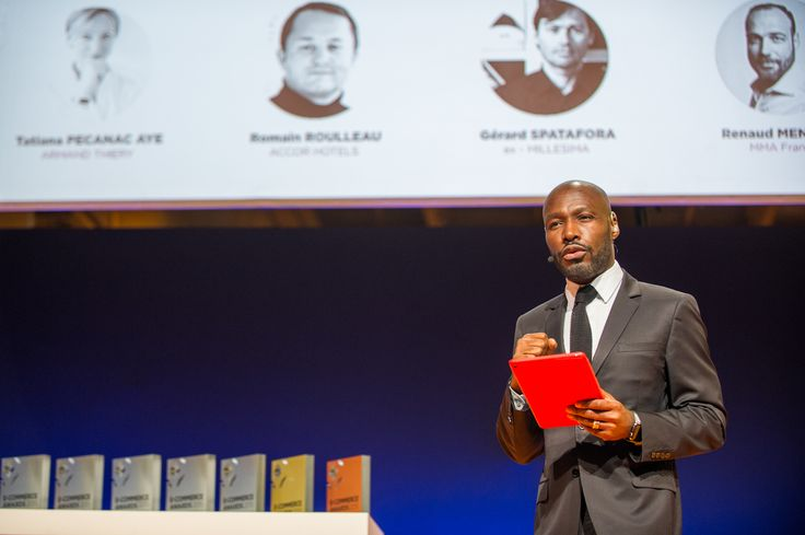 A Ceremony hosted by Anicet Mbida, Journalist for M6, EUROPE 1, CLUBIC. #ECP15 #ParisRetailWeek #AWARDS