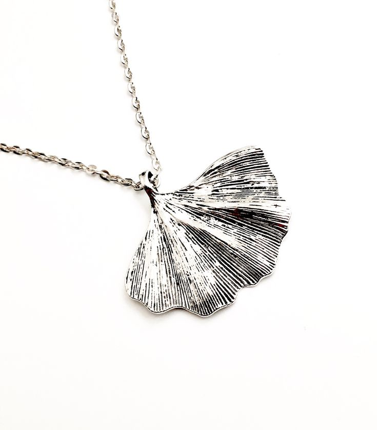 A personal favourite from my Etsy shop https://www.etsy.com/uk/listing/589453056/silver-ginkgo-leaf-pendant-necklace  @Etsy #ginkgo #gingko #ginkgobiloba #maidenhair #ginkgoleaf #plants #trees #botany #livingfossil #pendant #necklace #herbal #medicinal #asian #china #simplependant