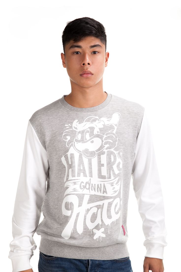 Hater Crew Sweat Rp. 329,000 Available in S, M, L and XL