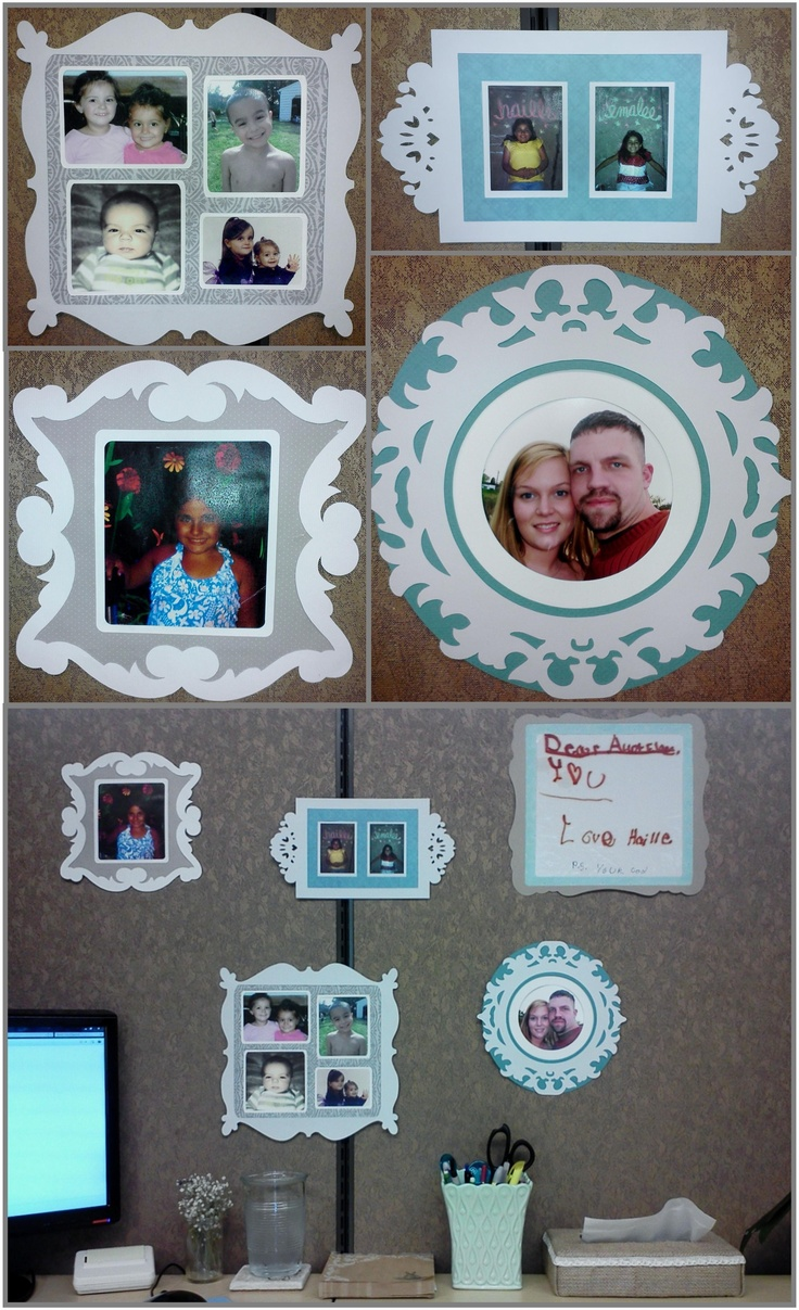 paper picture frames i made these frames for all the pictures i had