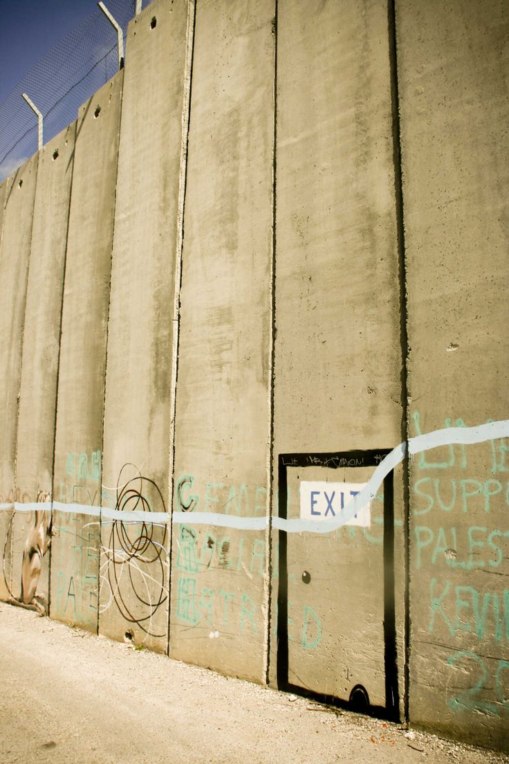 24 best Palestinian Containment Wall Grafitti images on Pinterest ...