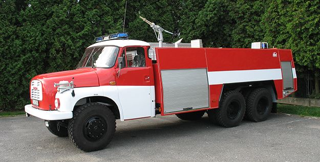 Hasičské vozidlá - THT SLOVENSKO