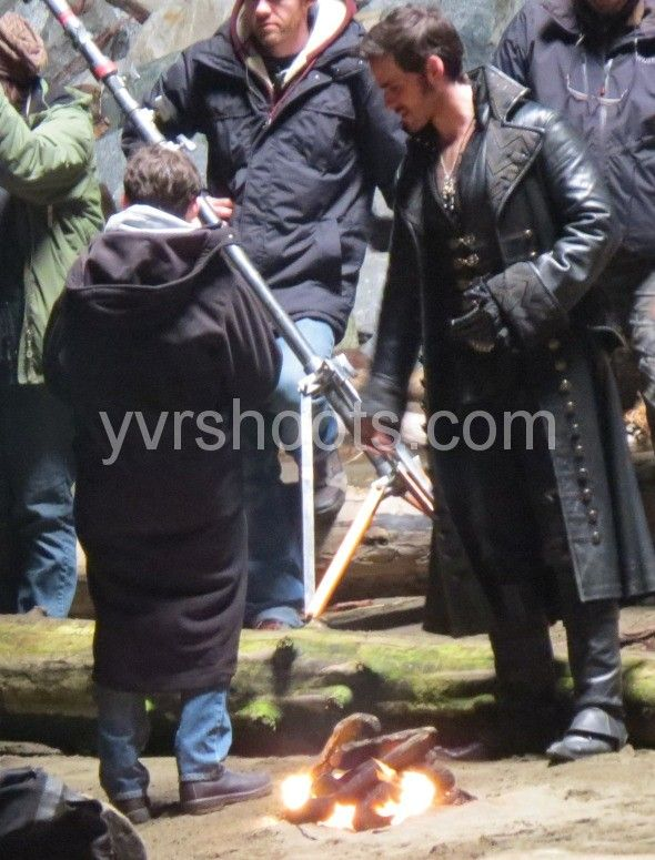 SHOOT: ONCE UPON A TIME Films Jared Gilmore & Colin O'Donoghue at Steveston's Garry Point Park | yvrshoots