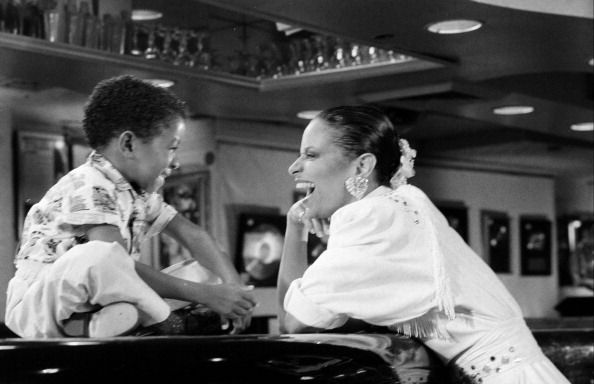 JULY 01 1986: Debbie Allen and Emmanuel Lewis (Photo by The LIFE Picture Collection/Getty Images)