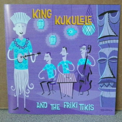King Kukulele and The Friki Tikis CD 2004 Shag Cover Art Hawaiian Butterflys | eBay