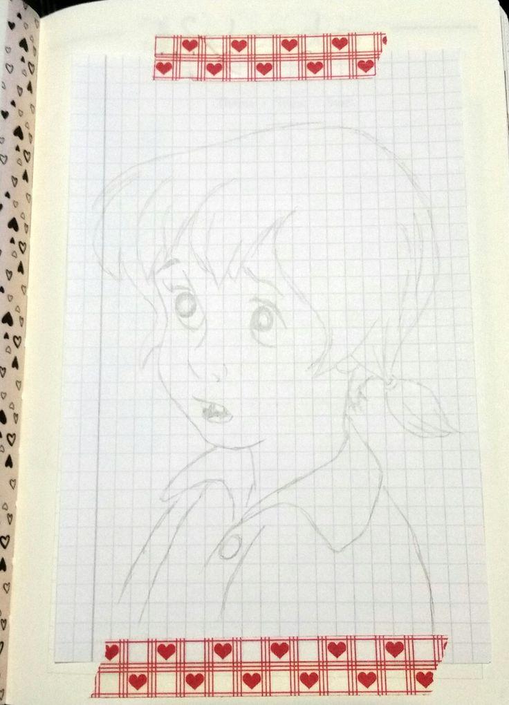 """""""Penny"""" von Bernard und Bianca Bleistiftzeichnung"""