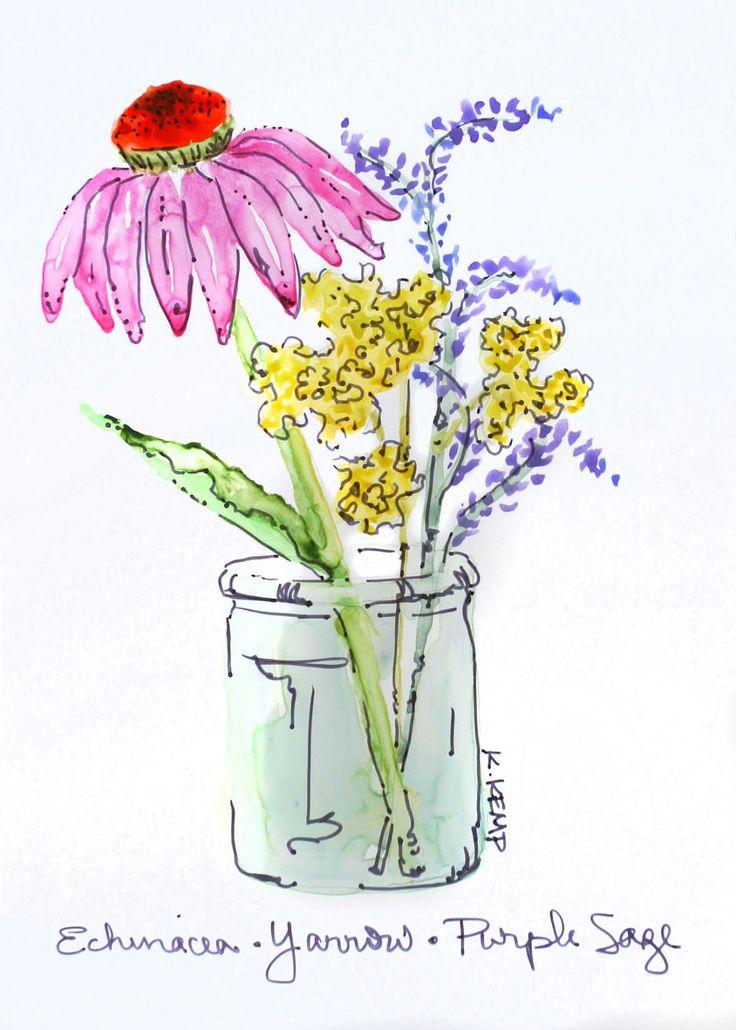 Цветы виа-видео