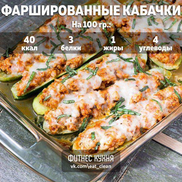 Кабачки, фаршированные курицей: идеальный ужин! <br><br>Ингредиенты: <br><br>Кабачок - 4 шт <br>Фарш из куриного филе - 400 г <br>Томатный соус - 200 г <br>Моцарелла - 50 г <br>Сыр нежирный - 35 г <br>Чеснок - 7 г <br>Соль, перец - по вкусу <br> <br>Приготовление: <br><br>Разогрейте духовку до 20..