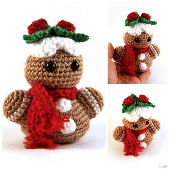 79 best Amigurumi Christmas images on Pinterest | Häkelpuppen ...