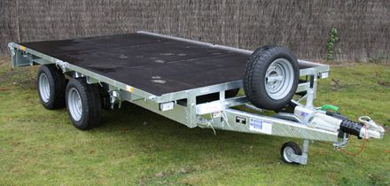 New Ifor Flatbed Trailer