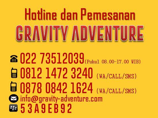 Gravity Adventure Provider Rafting di Bandung Terbaik