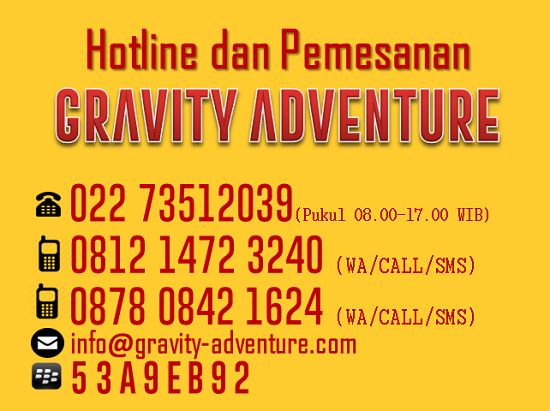 Gravity Adventure Tempat Rafting Bandung yang Asyik