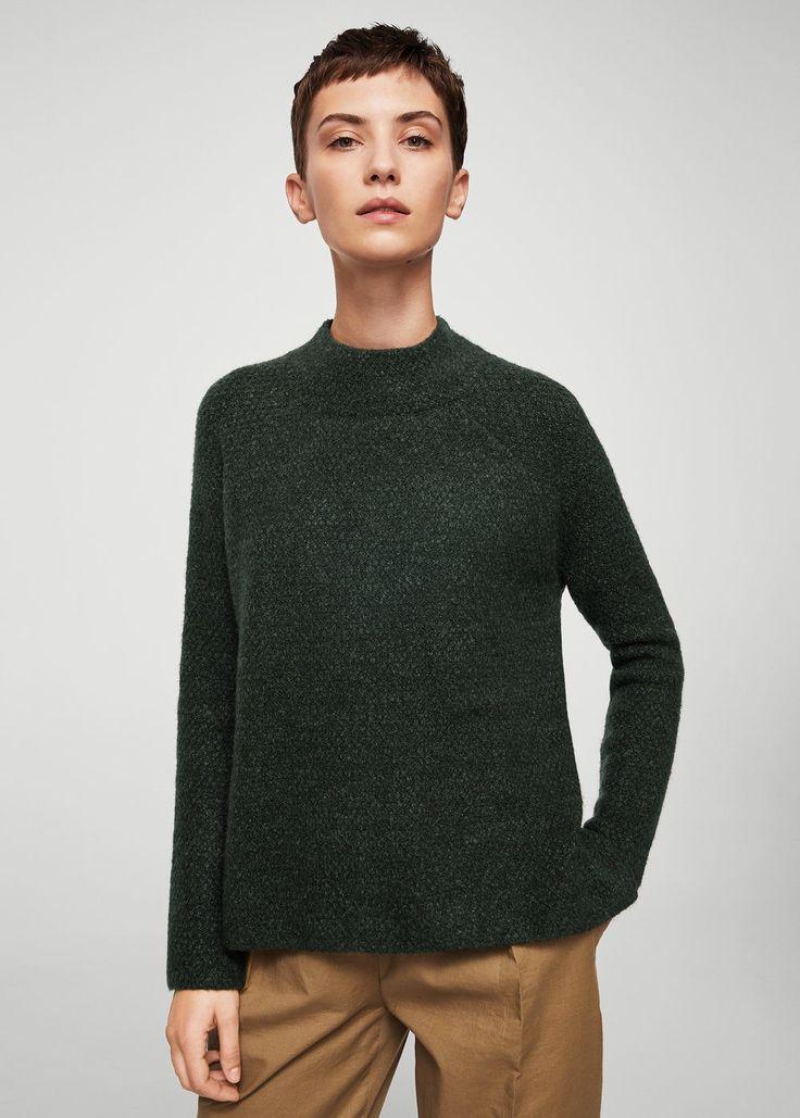 Camisola malha grossa (verde): MANGO (29,99€)