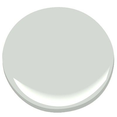 Oyster shell | Benjamin Moore | it's a soft blue-gray, quiet & calming and almost white