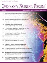 Oncology Nursing Society | ONF