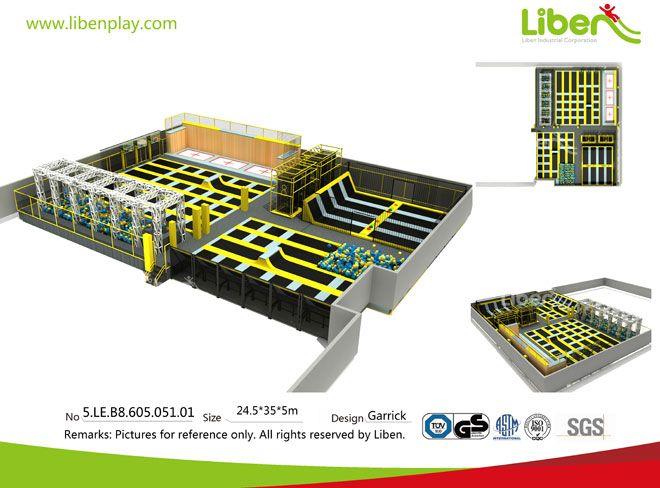 China Professional Trampoline Park Bulder-Design