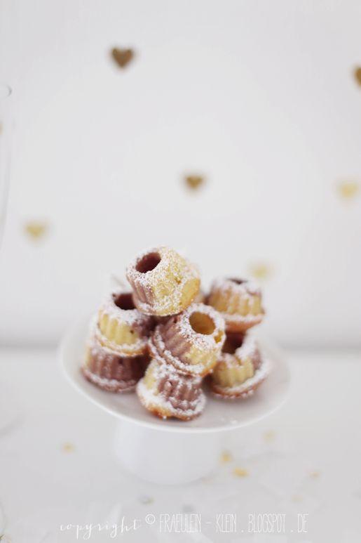Nougat and Vanilla Marble Mini Bundt Cakes Recipe