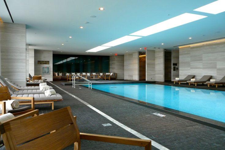 Four Seasons Hotel & Private Residences Indoor Pool 50 Yorkville Ave Toronto Luxury Condos Victoria Boscariol Chestnut Park Real Estate