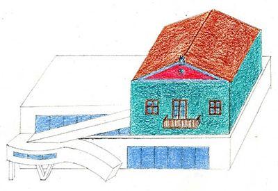 Ο γνωστός αρχιτέκτονας ζωγραφίζει τη γειτονιά των παιδικών του χρόνων
