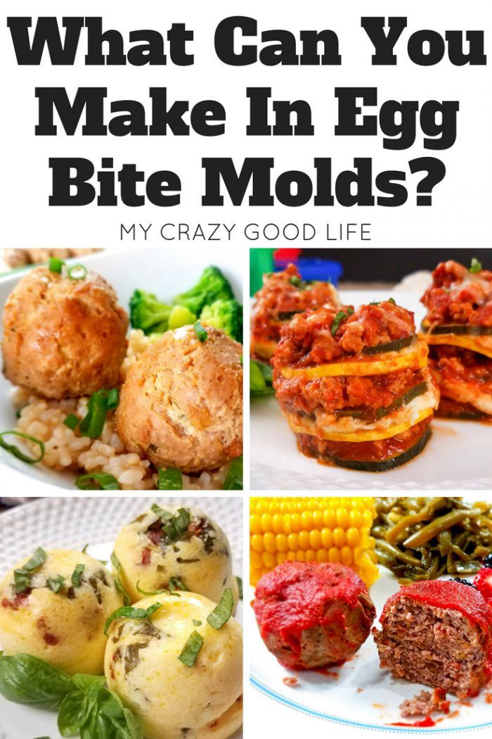 Instant Pot egg bite molds are super versatile  I cook egg