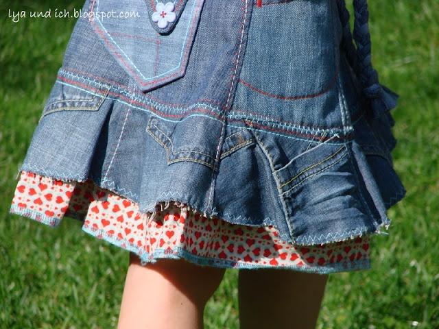 lya und ich: cool skirt