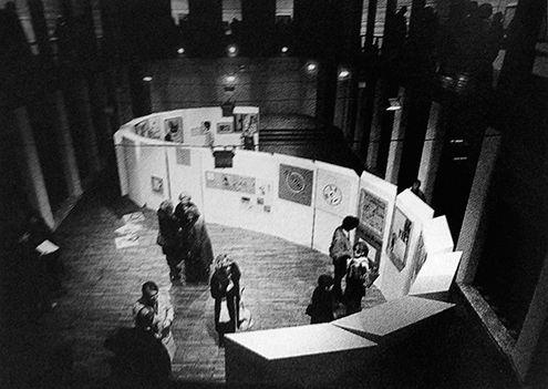 "Angiolo Giuseppe Fronzoni. "" Display System, 1980, exhibitions at Genoa Royal Palace"""