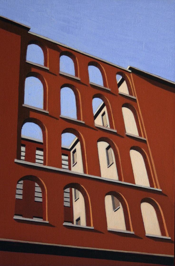 Marco Petrus - Angelicum - 2012 - oil on canvas - Galleria Sant'Angelo