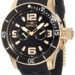 """Invicta Men's 1792 """"Specialty"""" 18k Gold Ion-Plated Watch review"""