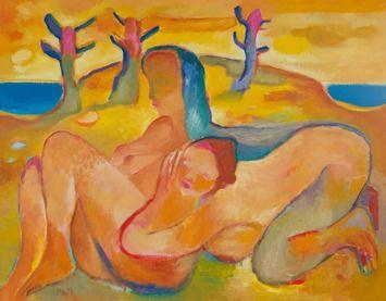 Miro Radev, olej na plátne, Sapfo (na vyžiadanie)
