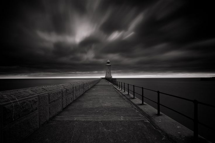Light My Stormy Way - An apocalyptic morning in the North coast of the UK... Hopefully even the storm roll over my head, the heavy angry clouds didn't soaked me :-) Follow me as sell on Google+ (https://www.google.com/+AnthonyM) Technical Stuff: 3 filters used (Hoya CPL + NISI big stoppers (6 stops) + Hitech 0.9 soft GND for the sky). Indeed one exposure. Overall editing carried out with Aperture