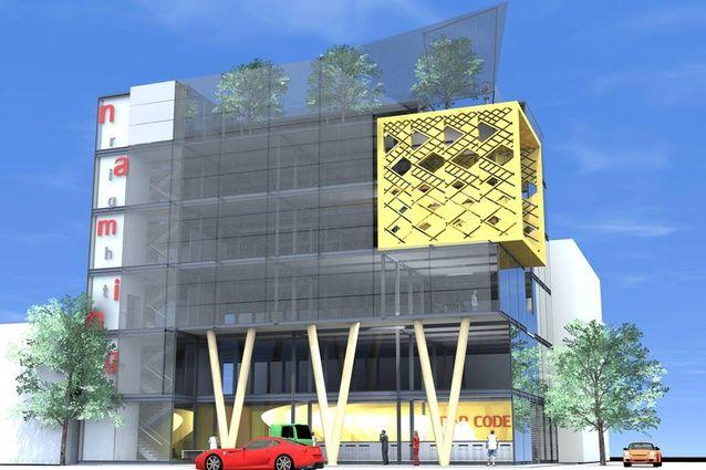 Corner of Colombo and Kilmore Street building