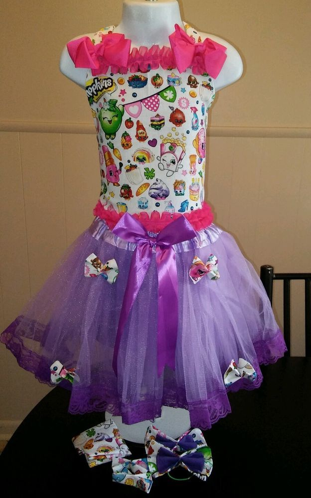 National Pageant Casual Wear OOC. Boutique Shopkins  4t-6 #Handmade #DressyEverydayHoliday