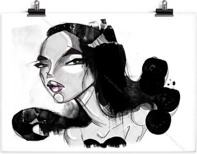illustration - mode femme - SMÄM – Illustrations and stuff