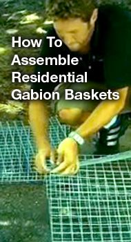 How to assemble Residential Gabion Baskets, gabion basket source