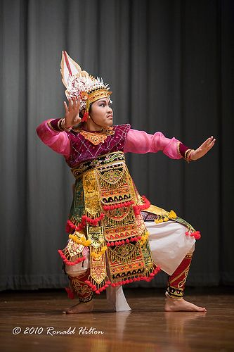 Indonesian Baris Dance