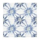 Iris Indigo Shibori Wallpaper Bolt - Southwestern - Wallpaper - by Brewster Home Fashions
