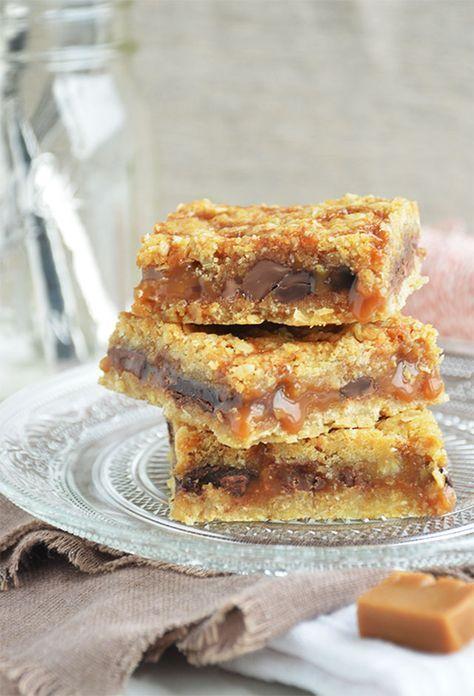 Carmelitas. Dit zoete baksel met chocolade en zachte caramel is een van de…