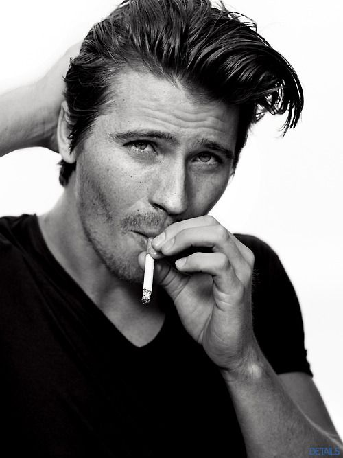 February cover star of Details, Garrett Hedlund.
