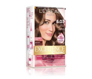 Excellence Crème 6.03 Świetlisty Ciemny Blond
