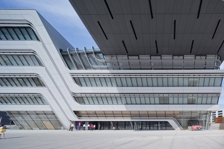 Getting' shifty....Library and Learning Centre University of Economics Vienna / Zaha Hadid Architects
